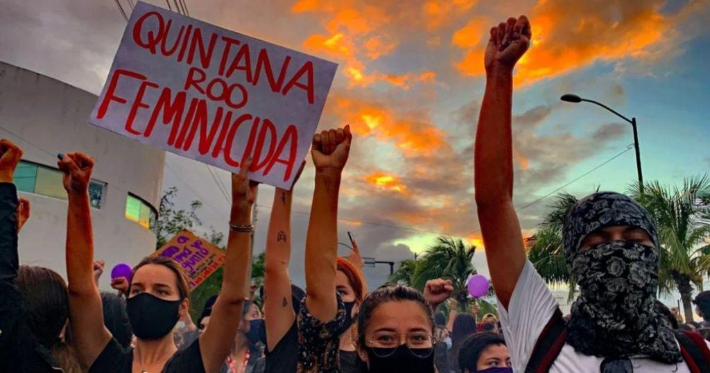 Protesta-feminista-Cancún-represión-policial-5