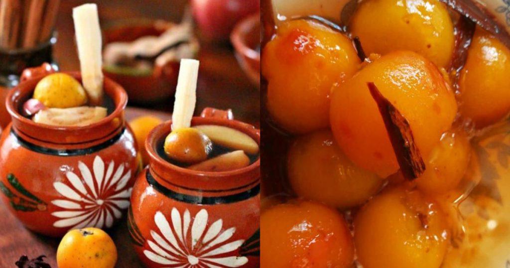 Tejocote-fruta-mexicana-Ponche-almibar