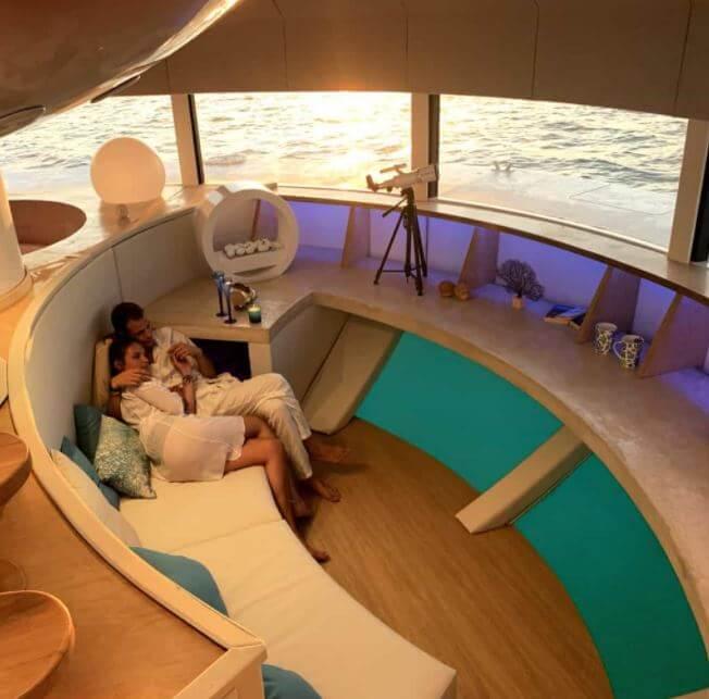 Anthénea es la nueva suite flotante que está en Francia ¡y tienes que conocerla!