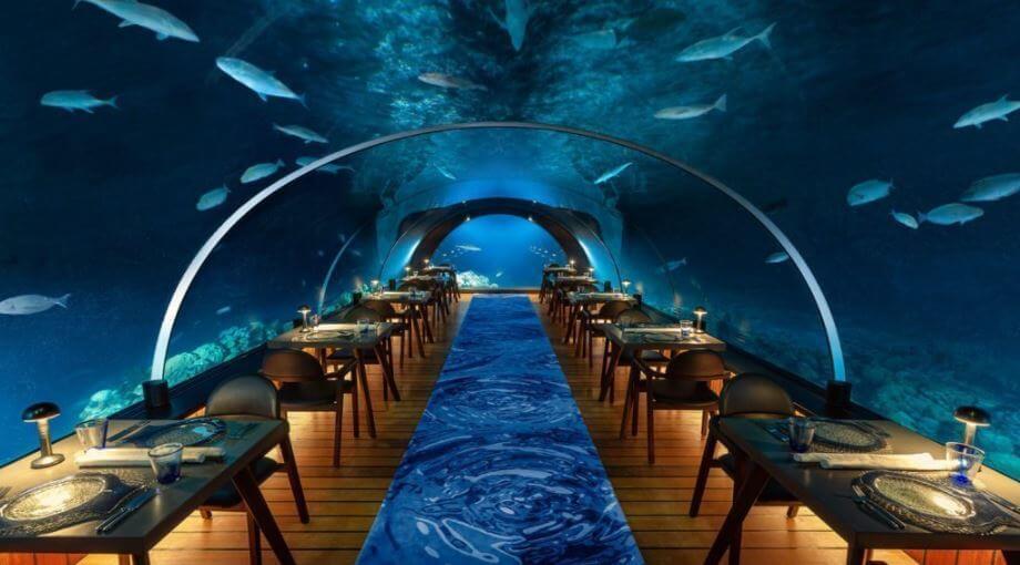 Restaurante submarino más grande del mundo