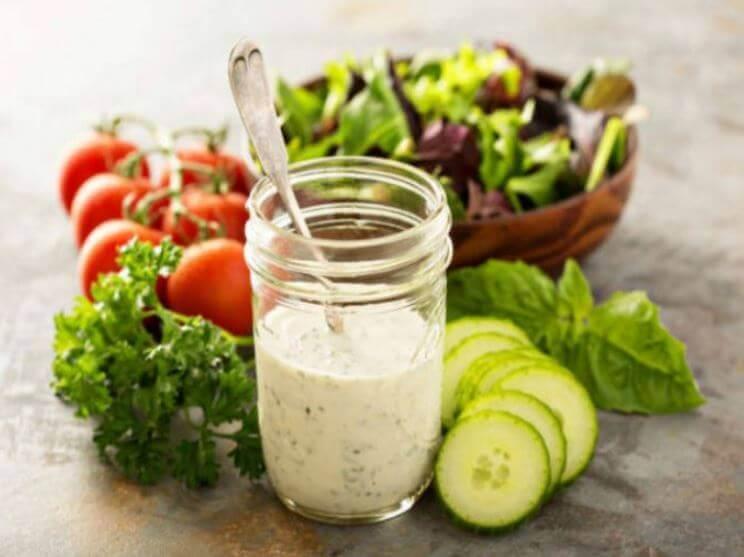 Recetas de aderezos y vinagretas para ensaladas