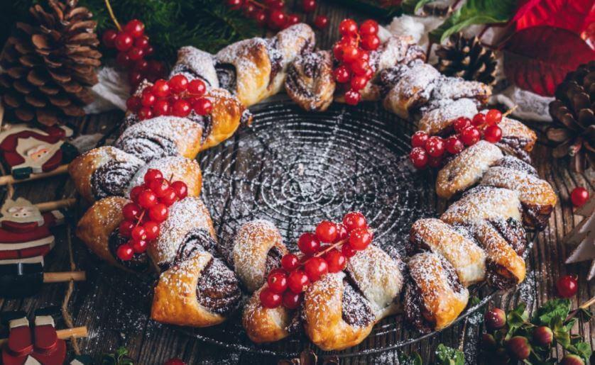 Corona de hojaldre y chocolate ¡Mira la receta!