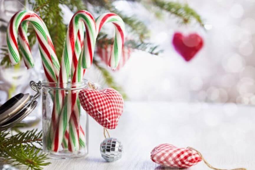 Sabes cuál es el origen de bastón de caramelo navideño