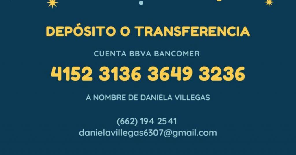 Daniela-pide-apoyo-cuenta-bancaria
