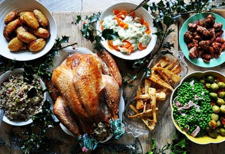que se come en Navidad en el mundo