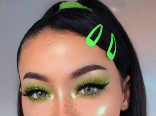 maquillaje para Navidad 2020