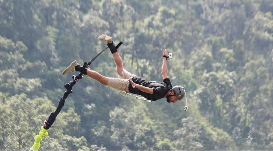 Los saltos en bungee más altos del mundo