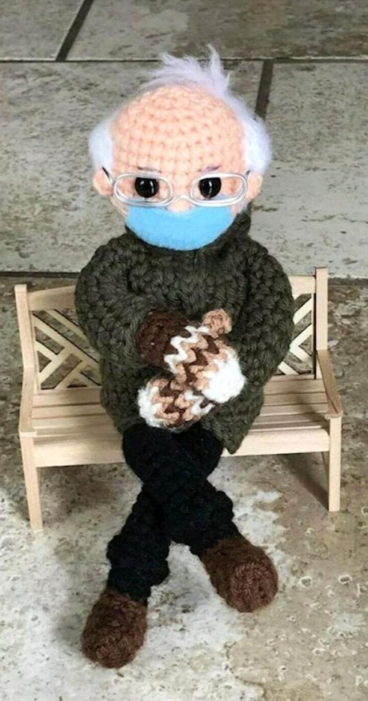 Muneco-croche-Bernie-Sanders