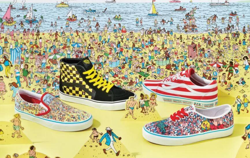 Vans lanza colección de Where's Waldo