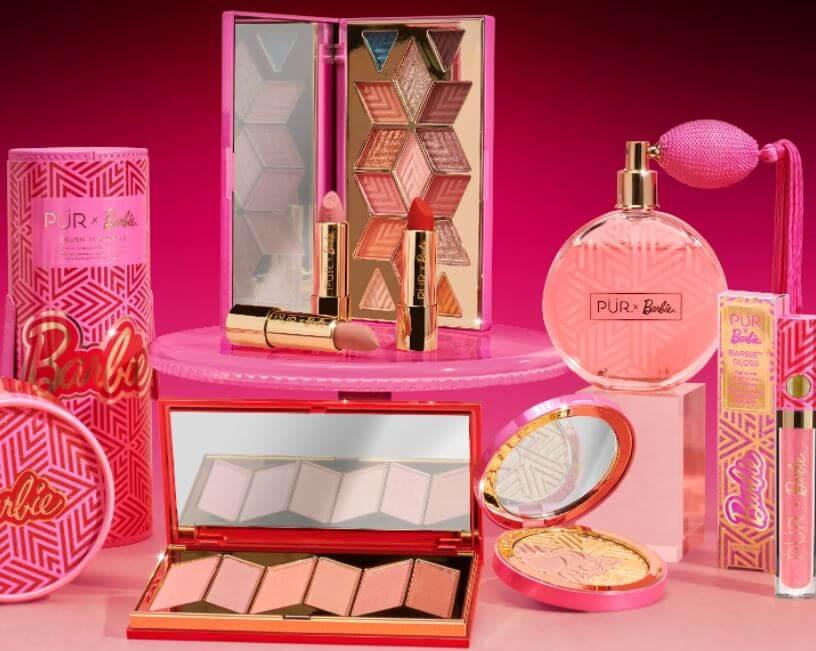 Colección de maquillaje de Barbie