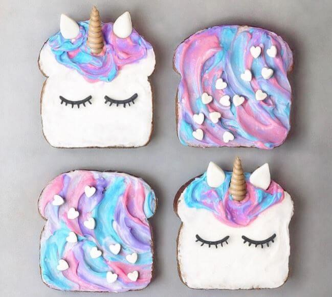 Postres de unicornio