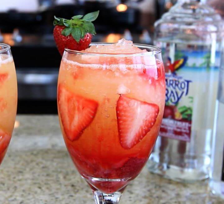 Bebidas romanticas para San Valentín