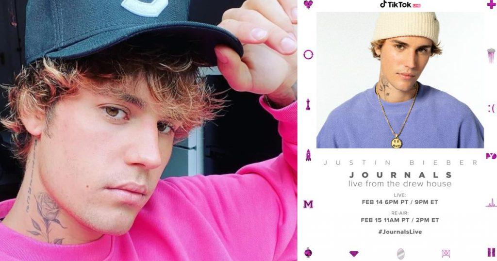 Justin-Bieber-concierto-online-TikTok-14-de-febrero