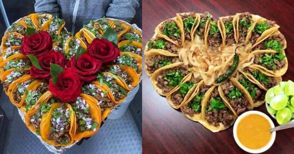 Rosca-Tacos-Corazon-14-de-febrero-Guanajuato