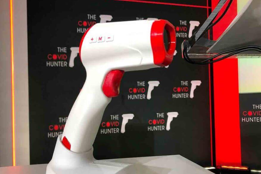 Covid Hunter: el escáner que detecta  Covid en 19 segundos