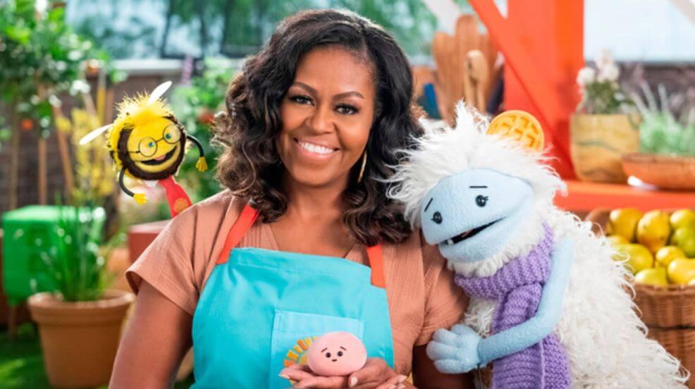Michelle Obama tendrá su propia serie de cocina en Netflix