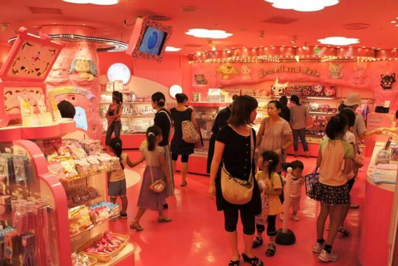 Parque temático de Hello Kitty en Japón
