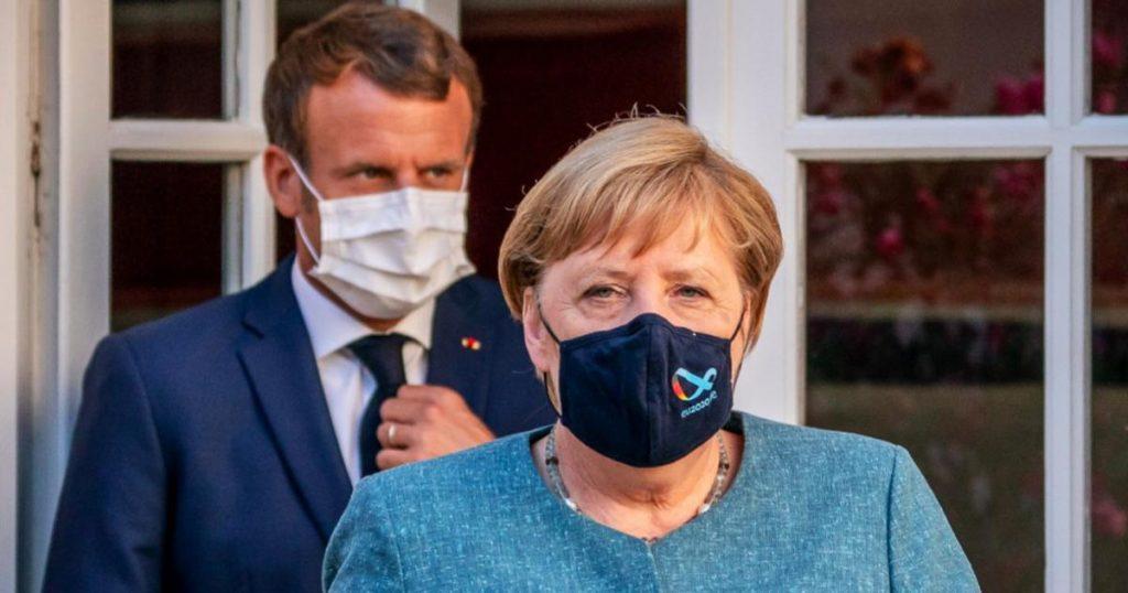 Angela-Merkel-y-Emmanuel-Macron