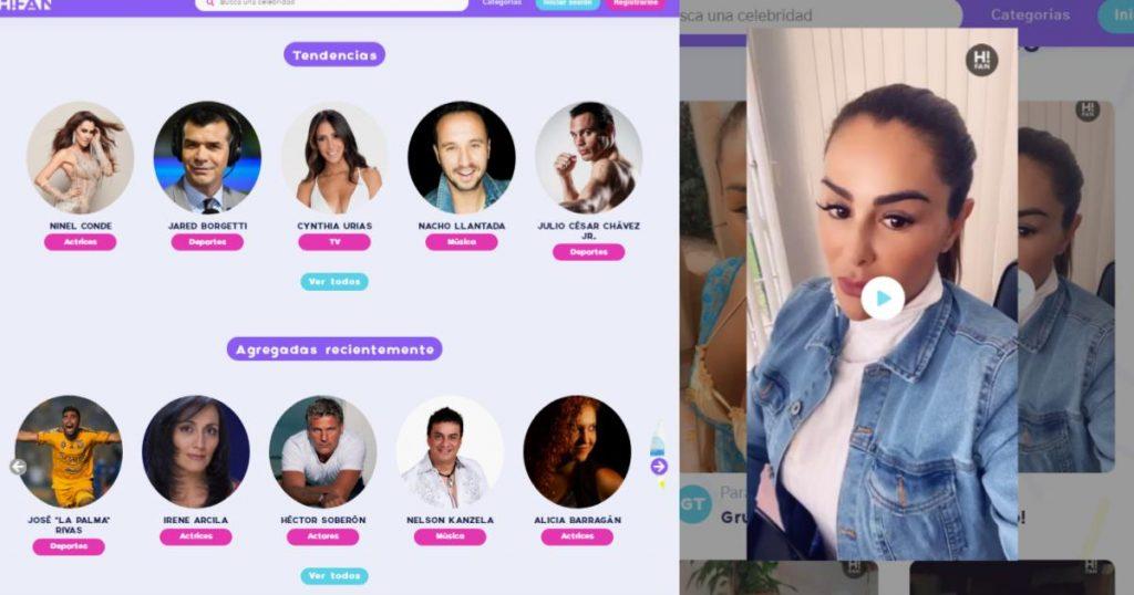 Aplicaciones-paginas-paracomprar-saludos-famosos-Hi-Fan-1