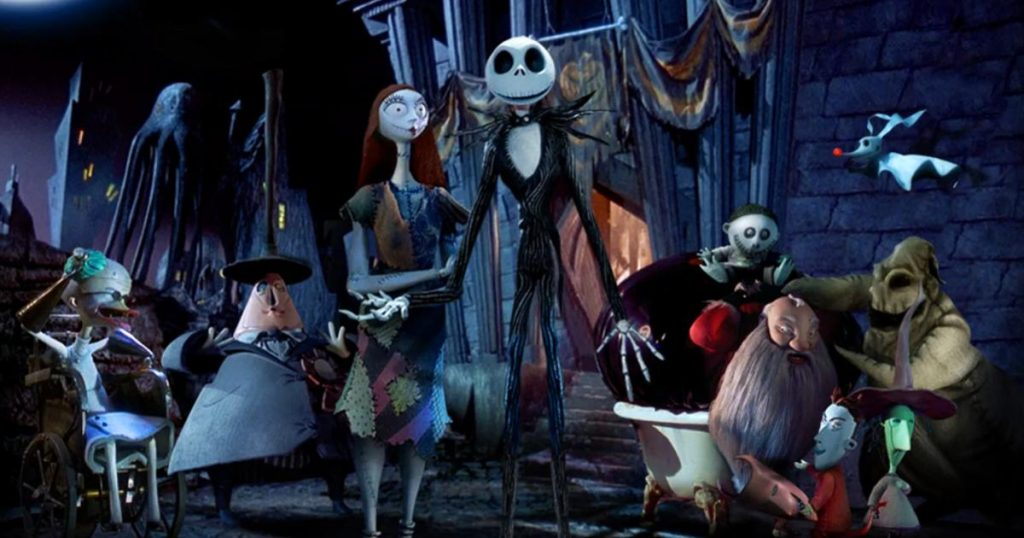 El-extrano-mundo-de-Jack-Cine-Camping-Tim-Burton