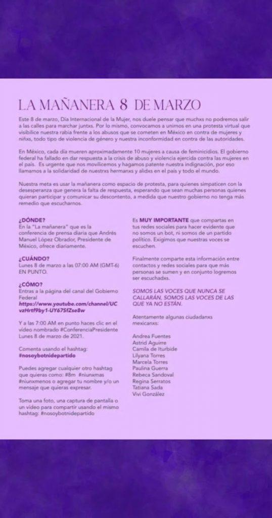 Mujeres-alzan-la-voz-y-toman-chat-conferencia-mananera-AMLO-4