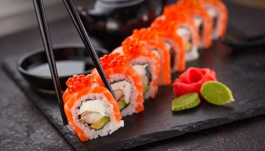 sushi ingredientes