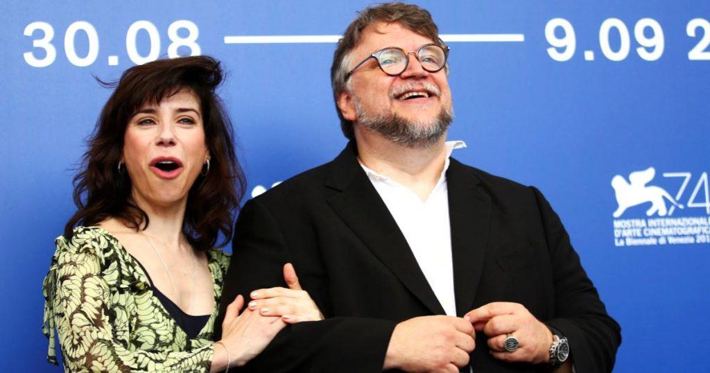 Guillermo-Del-Toro-y-Sally-Hawkins
