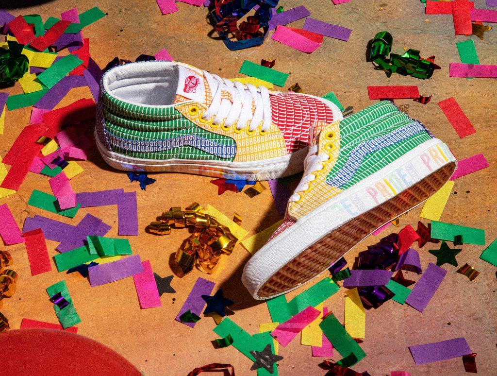 La colección de Vans para la celebración Pride es una explosión de color
