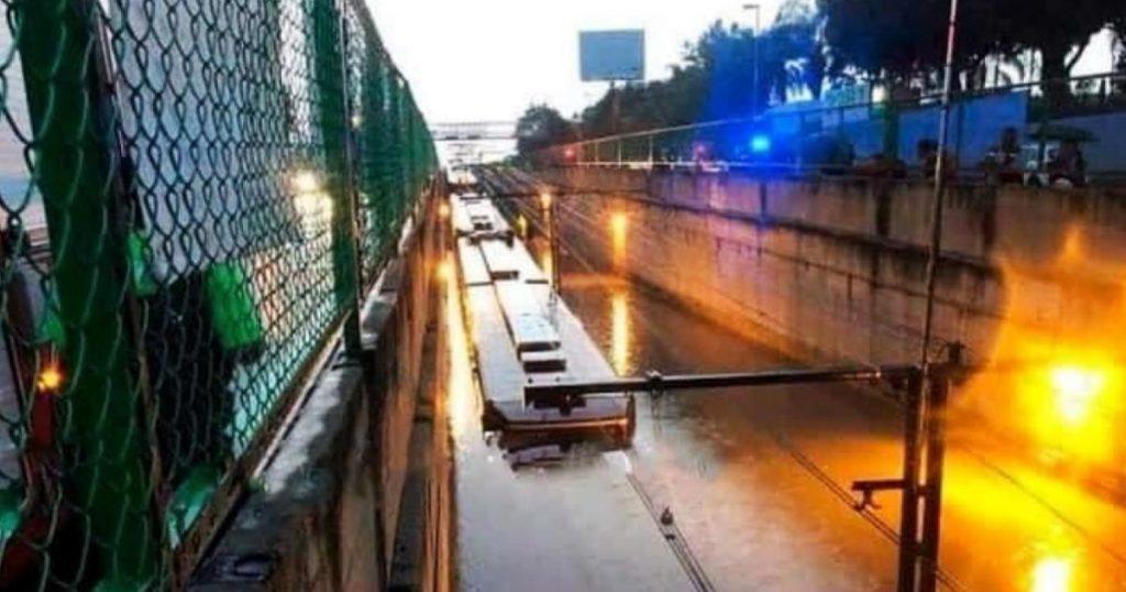 Linea-A-Metro-CDMX-inundada