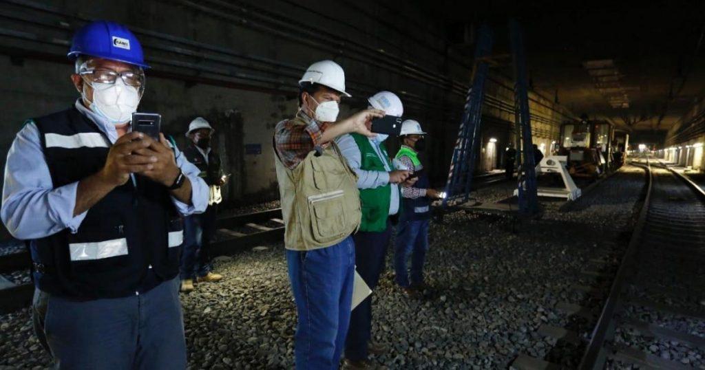 Metro-CDMX-Linea-12-tramo-subterraneo-trabajos-de-revision