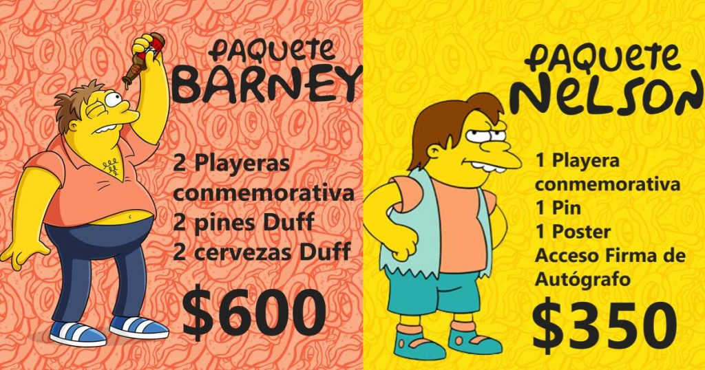 Paquetes-Simpson-Weekend-Fest