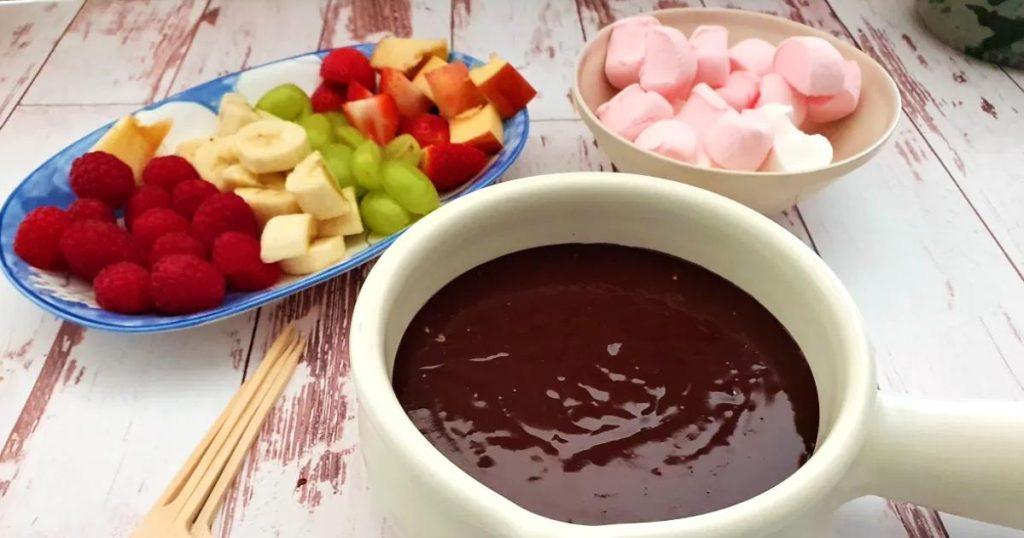 Receta-facil-fondue-de-chocolate