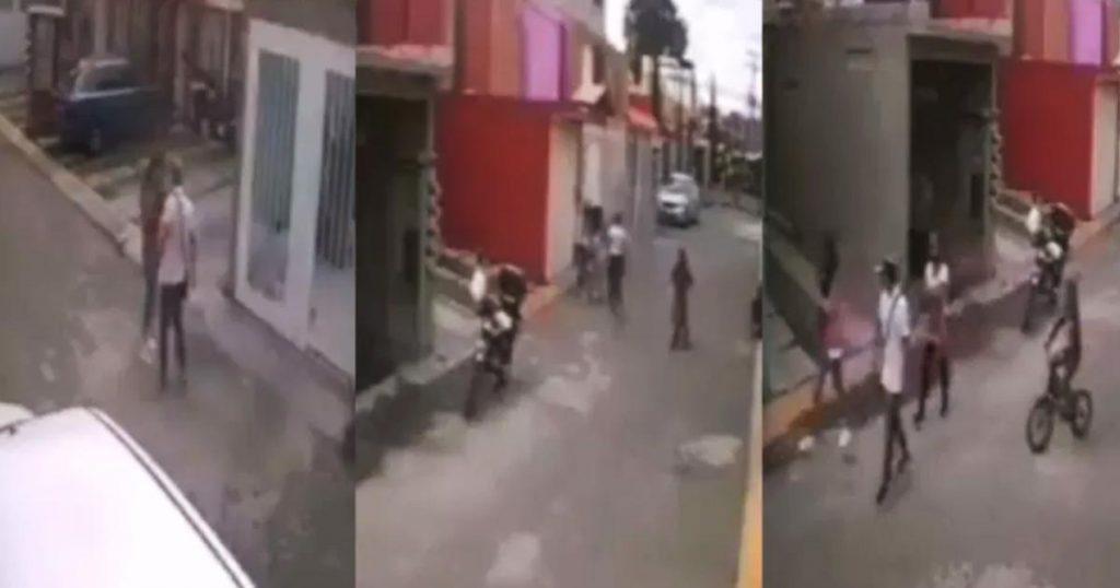 Video-Ecatepec-fraccionamiento-agresion-golpes-hombre-mujer-2