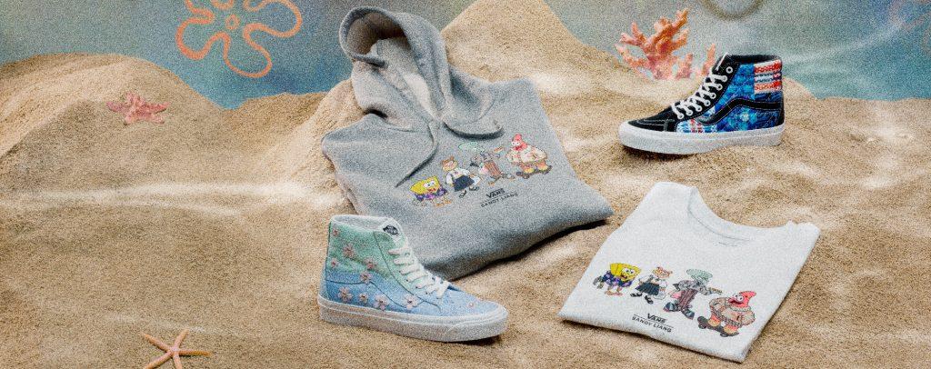 Vans y Nickelodeon se unen en una colección de Bob Esponja con calzado, ropa y accesorios