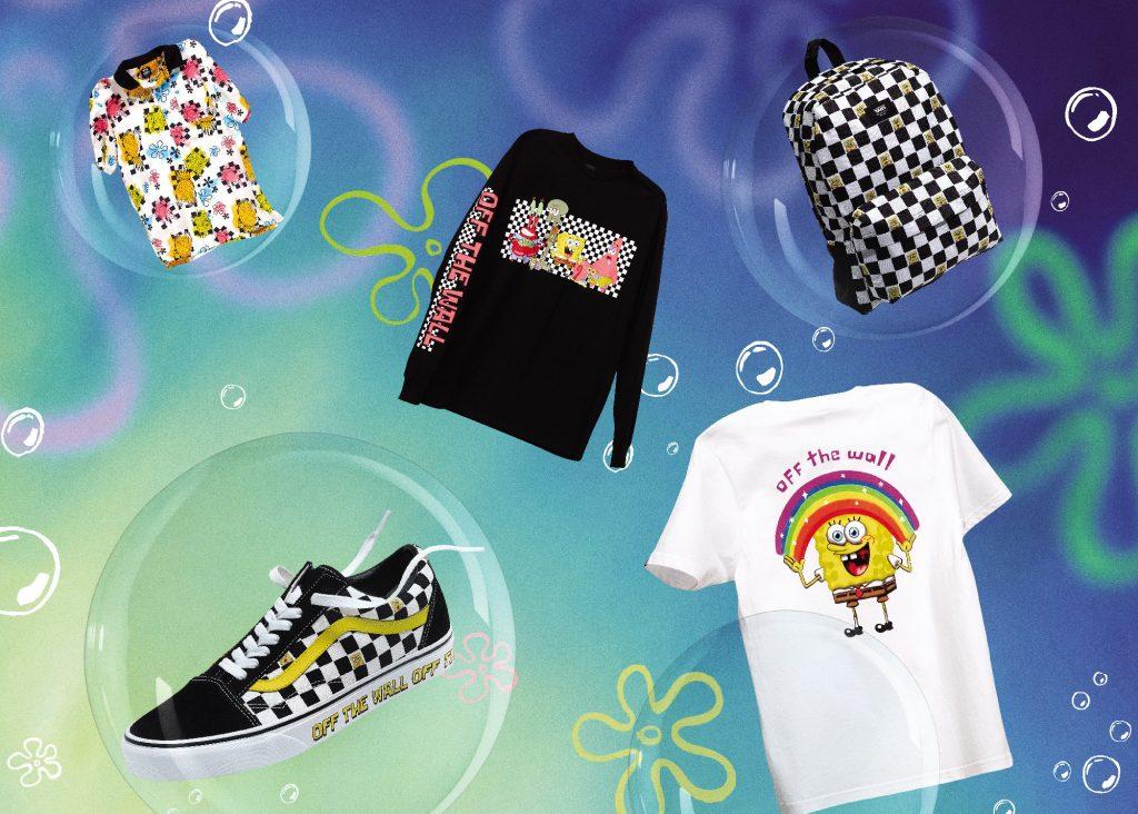 Vans y Nickelodeon se unen en una colección de Bob Esponja  que incluye calzado, ropa y accesorios