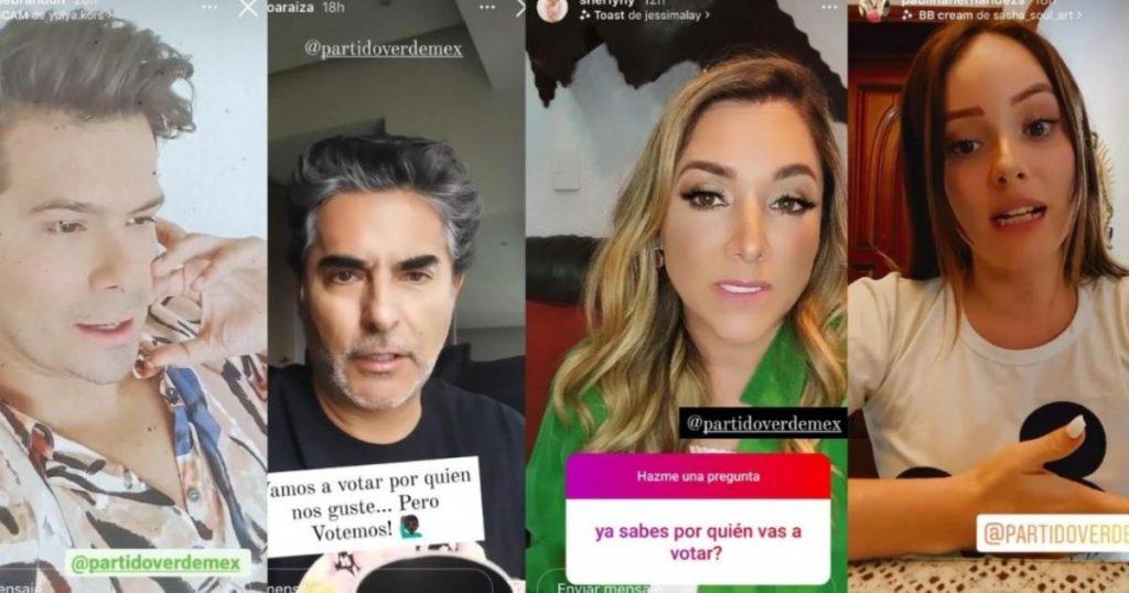 Famosos-influencers-acusados-promover-voto-Partido-Verde-3
