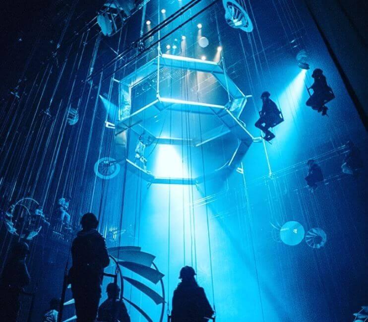 Bozal: la obra inmersiva que te lleva al espacio exterior