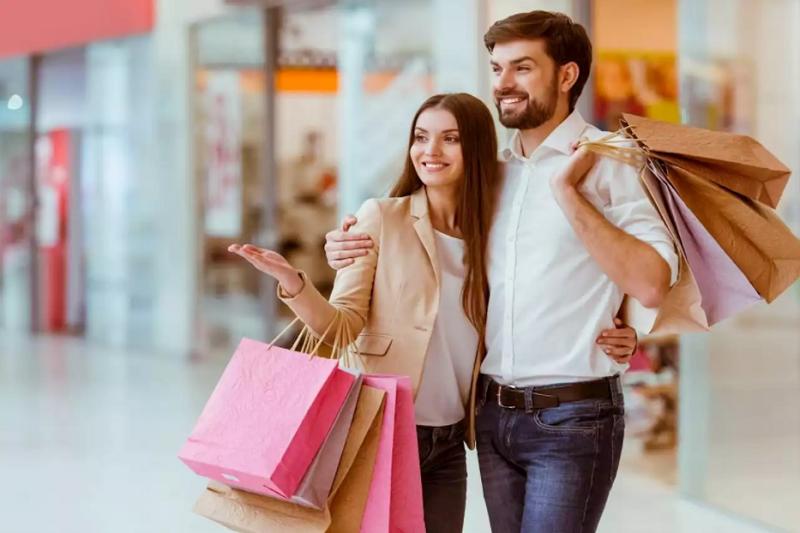 Comprador en centros comerciales de encubierto