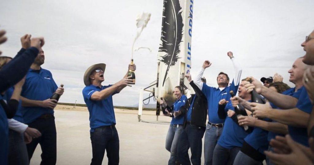 Celebracion-Jeff-Bezoso-viaje-espacio