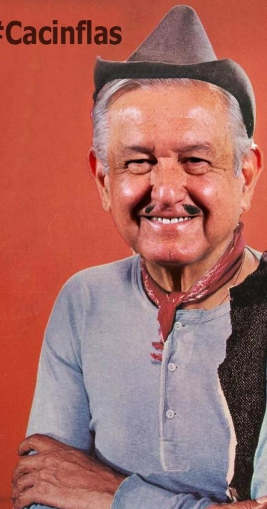 AMLO-Cantinflas
