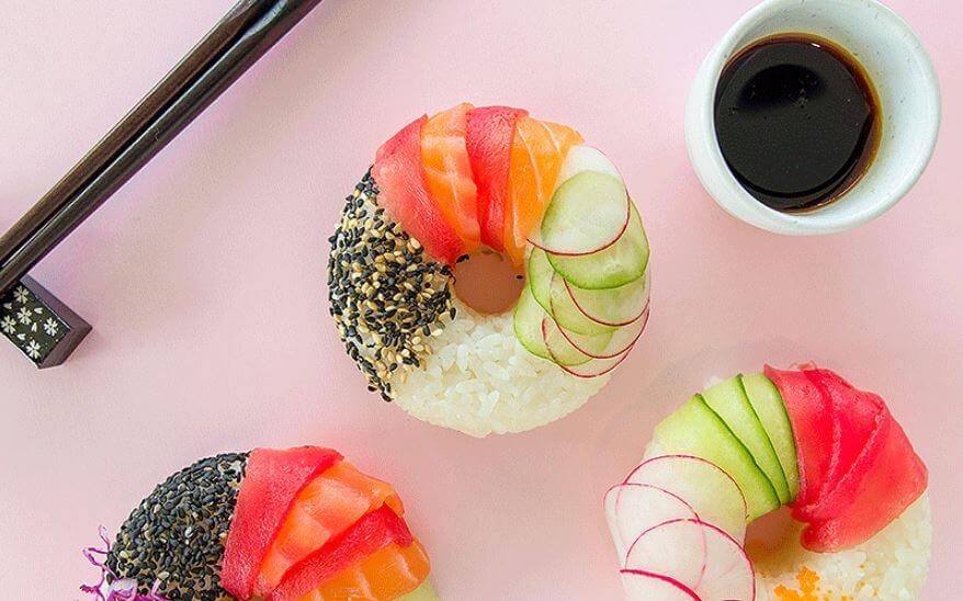 como-hacer-donas-de-sushi-receta-facil
