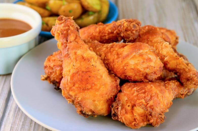 Cómo hacer pollo frito estilo KFC