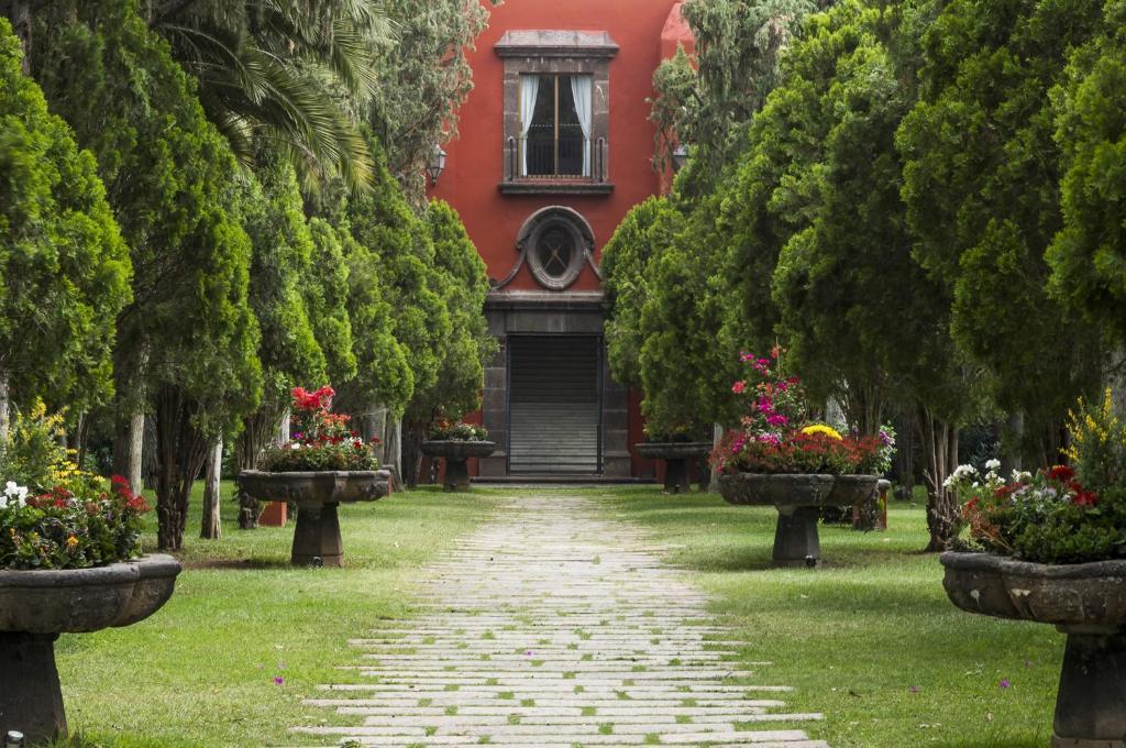 Hacienda Galindo en  San Juan del Río, Querétaro,  te maravillará por su hermosa construcción.