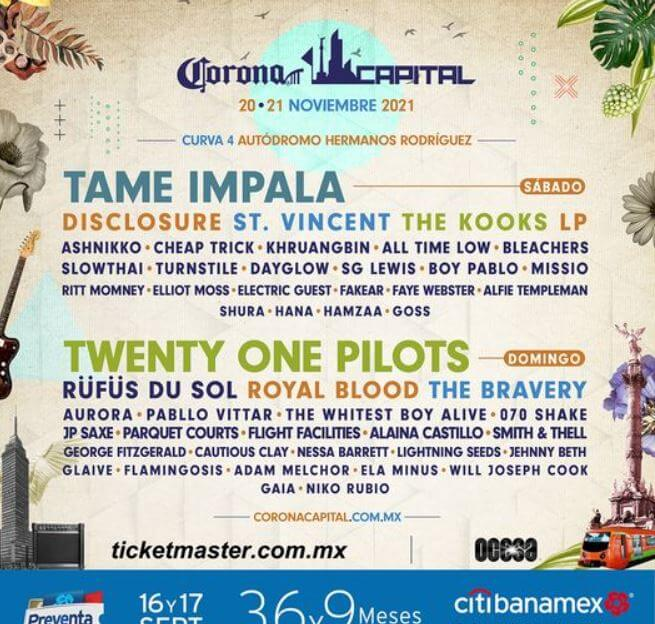 cartelera-oficial-corona-capital-2021-en-cdmx