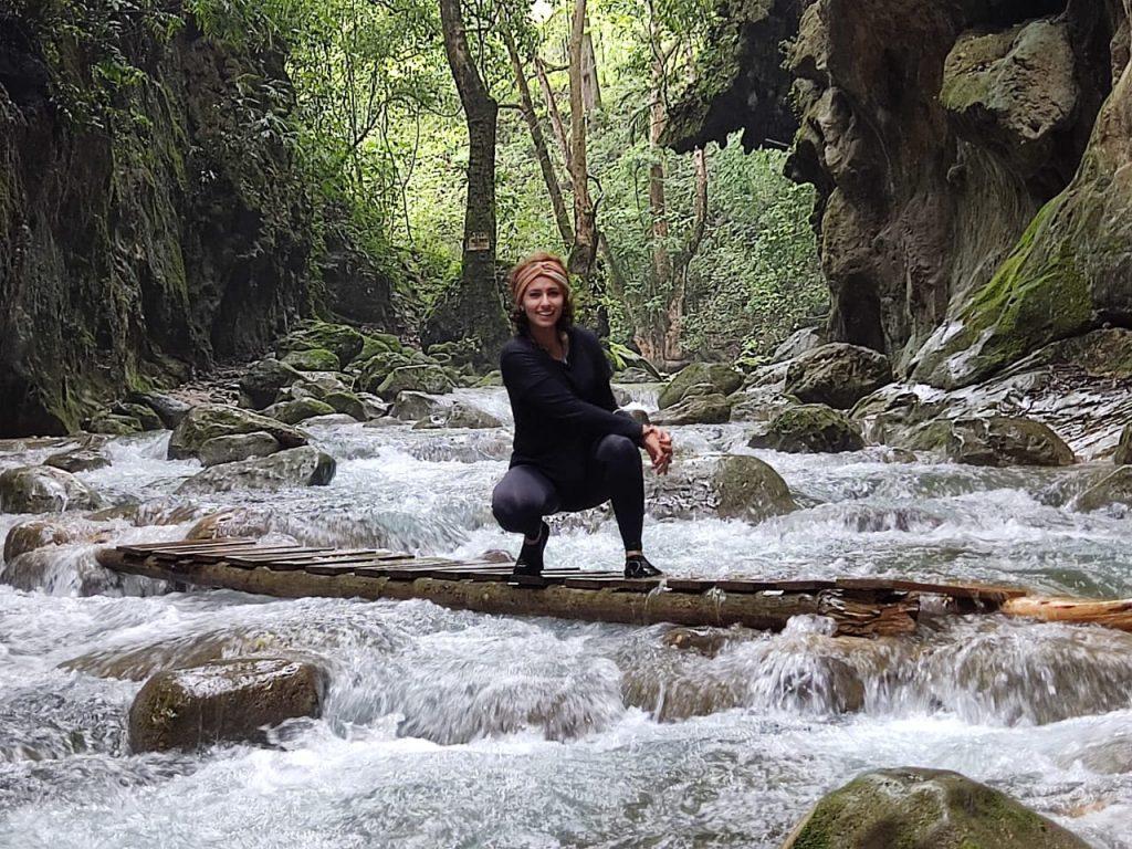 Puente De Dios es uno de los mejores lugares para disfrutar de sus cascadas
