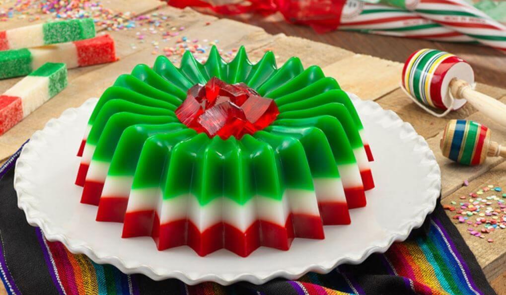 Gelatina Tricolor Mexicana para el mes de septiembre - Ciudad Trendy